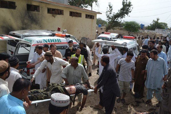 Nepokoje v provincii Balúčistán na juhozápade Pakistanu.