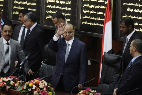 Jemenský prezident Abed Rabbu Mansúr Hádí.