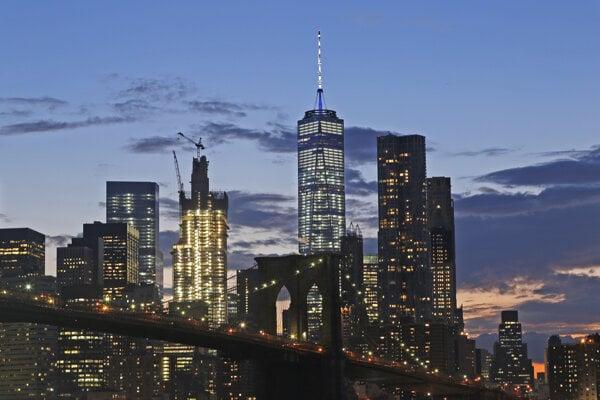Panoráma dolného Manhattanu.