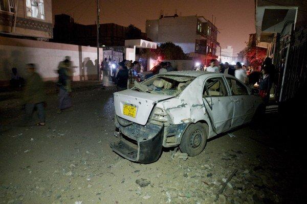 Útoky v Jemene sa po prevzatí vlády šiítskymi militantmi množia.