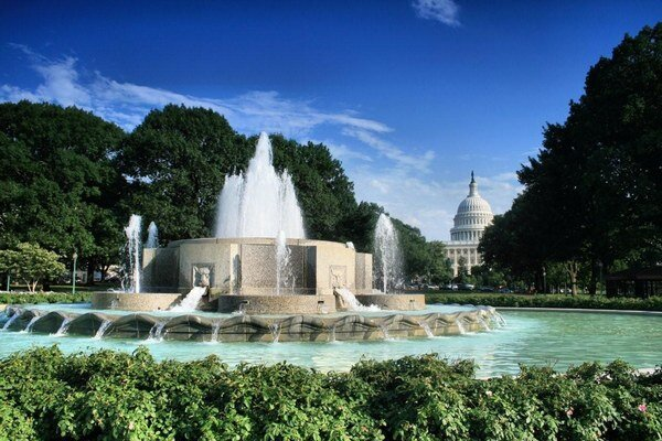 Hlavné mesto USA.