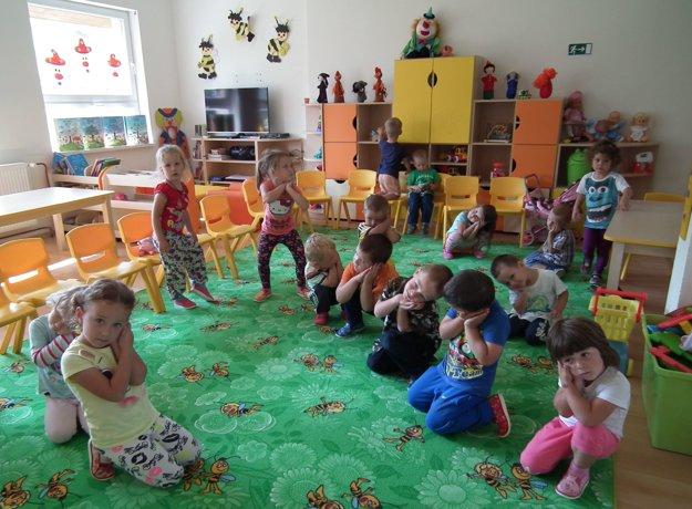 Do pucovskej škôlky chodí 45 detí.