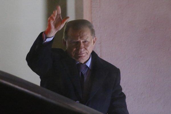 Ukrajinu zastupoval exprezident Leonid Kučma.