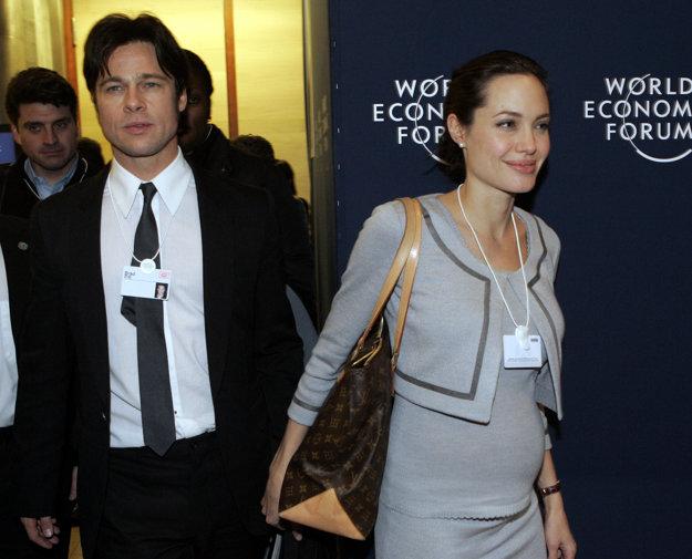 Počas prvého Angelinho tehotenstva v roku 2006