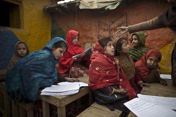 Prístup k vzdelaniu nie je všade samozrejmosťou.