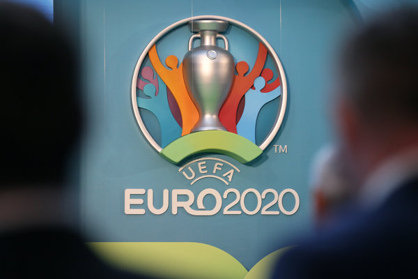 Oficiálne logo EURO 2020.