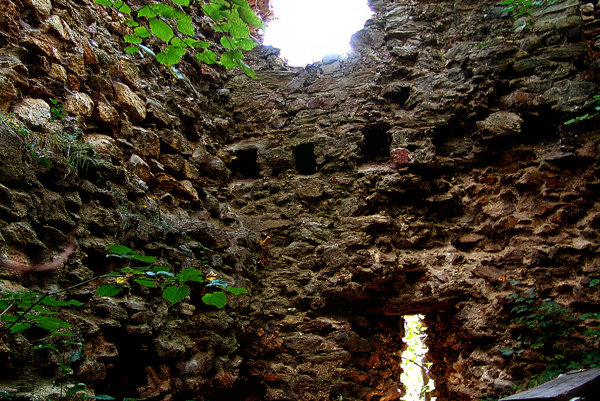 Z Gelnického hradu ostali len zvyšky.
