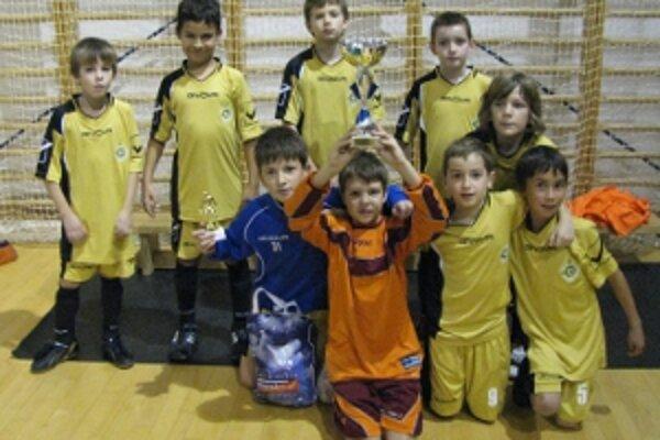 Prípravka U10 vybojovala na turnaji v Badíne striebro.