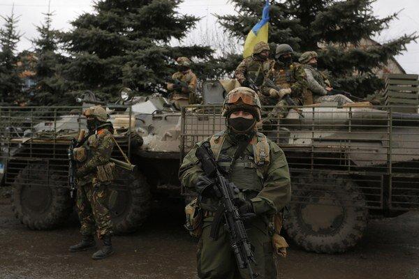 Ukrajinská armáda.