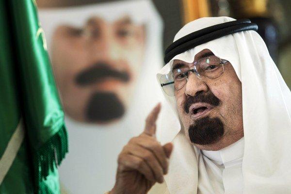 Saudskoarabský kráľ Abdalláh.