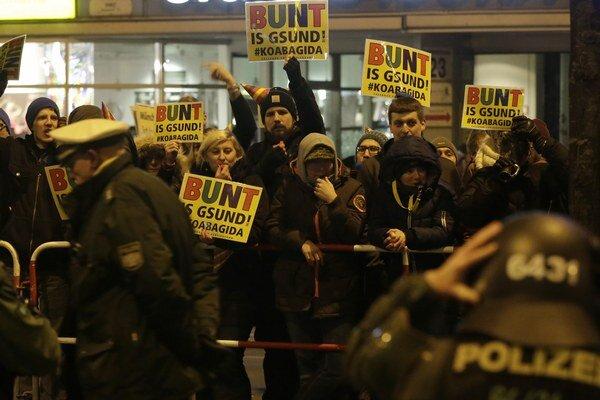 Protiislamské hnutie v Mníchove.