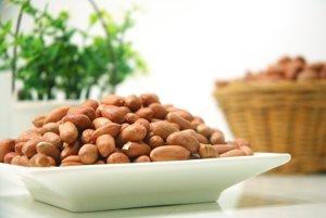 Arašidy sú jedným z najčastejších alergénnych jedál.