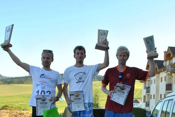 Najrýchlejší muži. Víťaz Orolín vtraťovom rekorde.