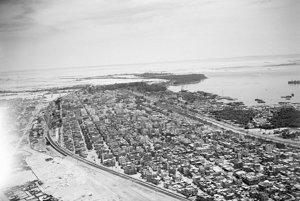 Takto vyzeral Suezský priplav v čase znárodnenia Egyptom, teda v roku 1953.