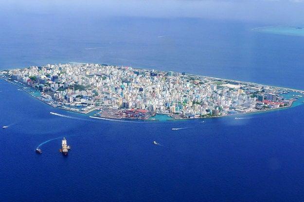 Hlavné mesto Malé.