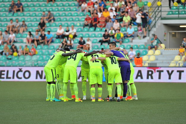 Futbalisti Žiliny predvádzajú v sezóne 2016/2017 výborné výkony a sú lídrami súťaže.