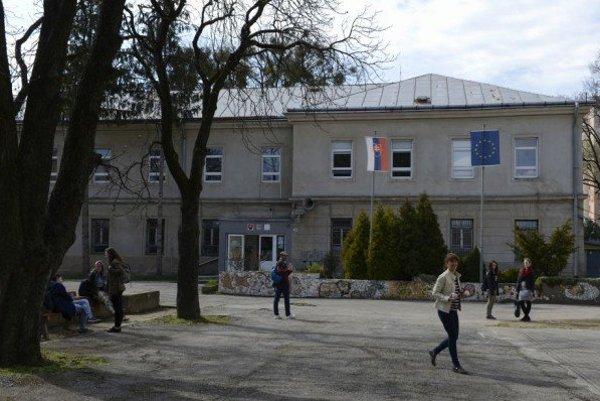 Škola úžitkového výtvarníctva v Košiciach.