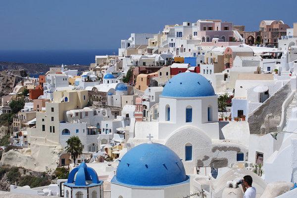 Grécko. Santorini.
