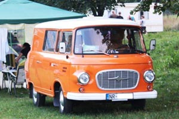 Vozidlo značky barkas bolo možné vidieť v Nitrianskom Rudne.