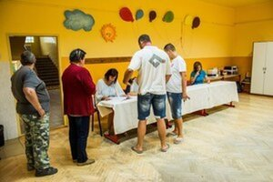 V Gabčíkove sa kvôli utečencom konalo referendum.