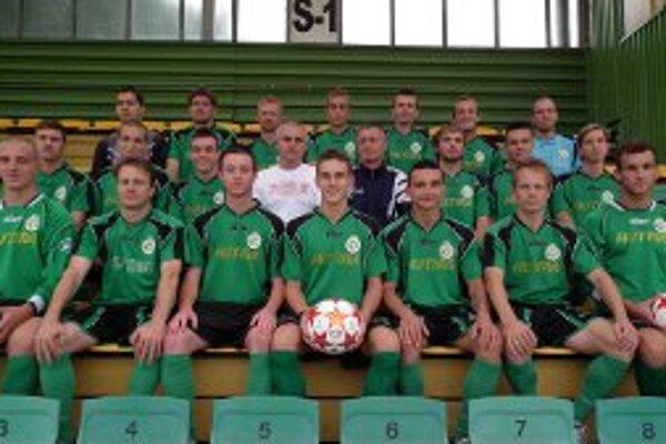 Muži FC Baník Horná Nitra.