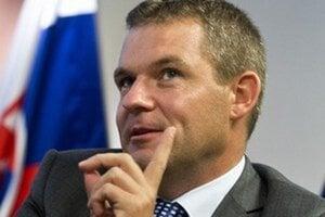 Predseda parlamentu Peter Pellegrini.