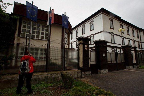 Sídlo Slovenskej informačnej služby v Bratislave.
