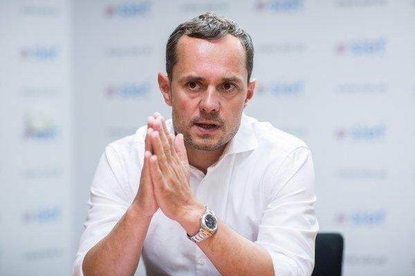 Predseda Siete Radoslav Procházka.