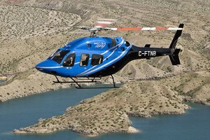 Americký vrtuľník Bell 429.