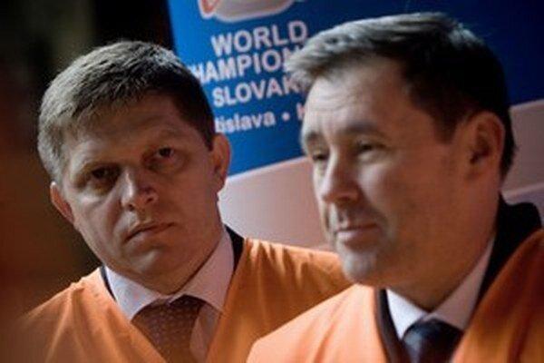 Robert Fico a Vladimír Široký.