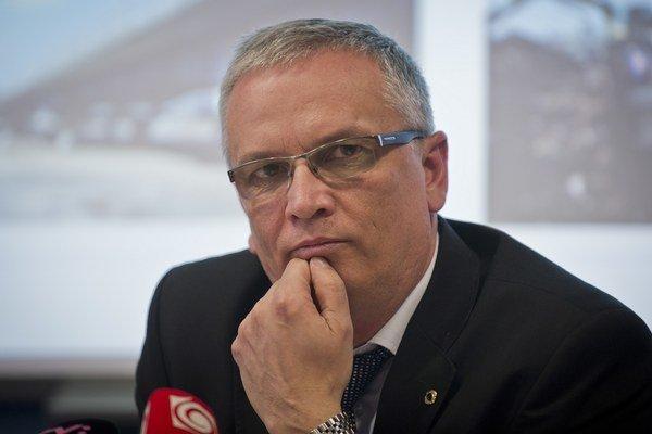Generálny riaditeľ spoločnosti Váhostav Marián Moravčík.