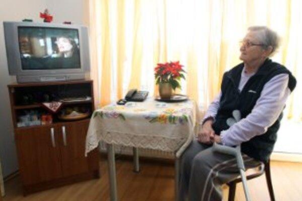 Seniori v Prievidzi si za domovy dôchodcov priplatia.