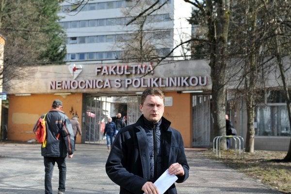 Predseda Lekárskeho odborového združenia Peter Visolajský.