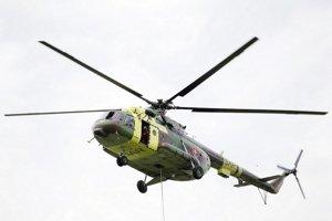 Ruský vrtuľník Mil Mi17, ktorý má naša armáda v súčasnosti vo výbave.