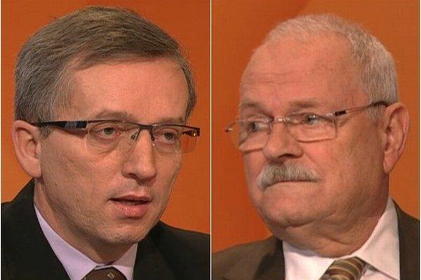 Jozef Čentéš a Ivan Gašparovič sa stretli v diskusii na RTVS.