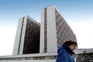 Rooseveltova nemocnica v Banskej Bystrici.