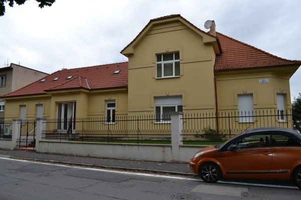 Pamätný dom Júliusa Szabóa v Lučenci.