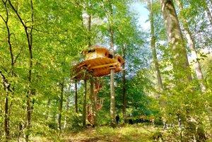 Tree house, alebo domček na strome v Kačínskej doline.
