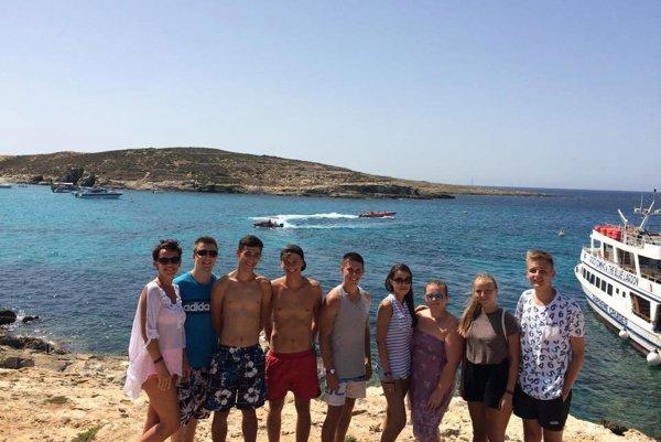Odbornú prax absolvovali na Malte.
