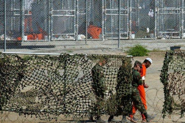 Väznica v Guantáname.