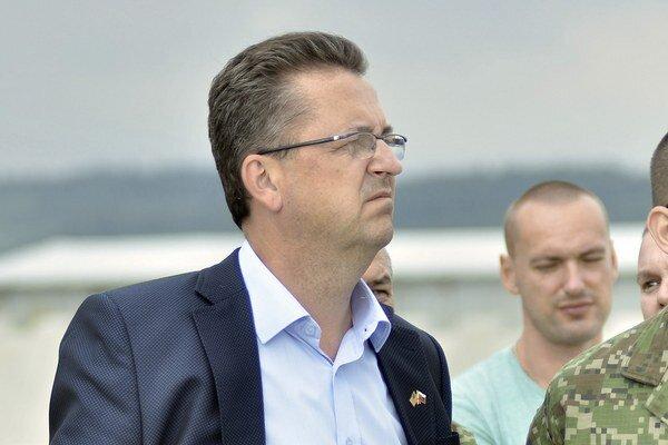 Glváč prisľúbil Ukrajine pomoc s výcvikom vojakov.
