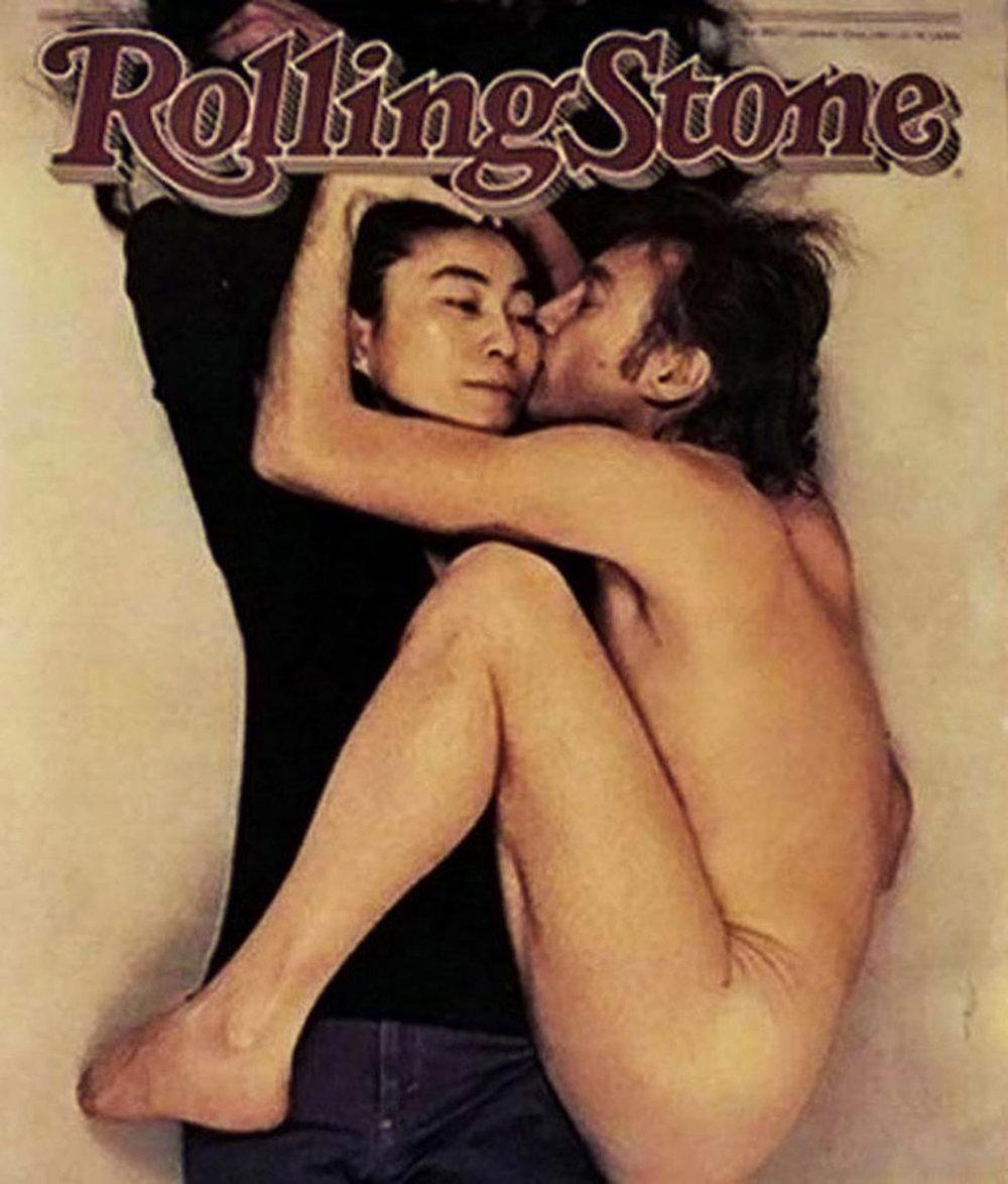 Fotografia vyšla na titulnej strane časopisu Rolling Stone bez akéhokoľvek textu.