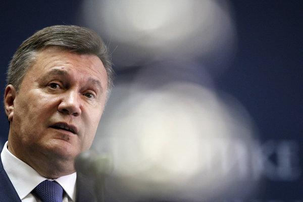 Bývalého ukrajinského prezidenta Janukovyča hospilizovali