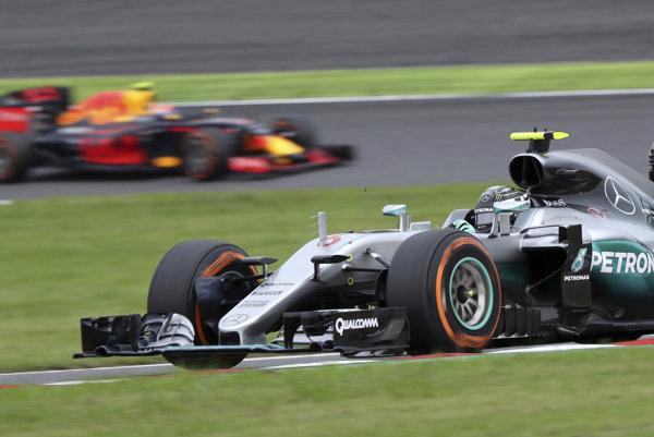 VC Japonska vyhral Nico Rosberg na Mercedese