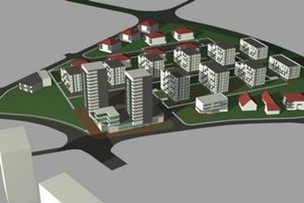 Vizualizácia projektu EEI. Predstavili ho vroku 2008.