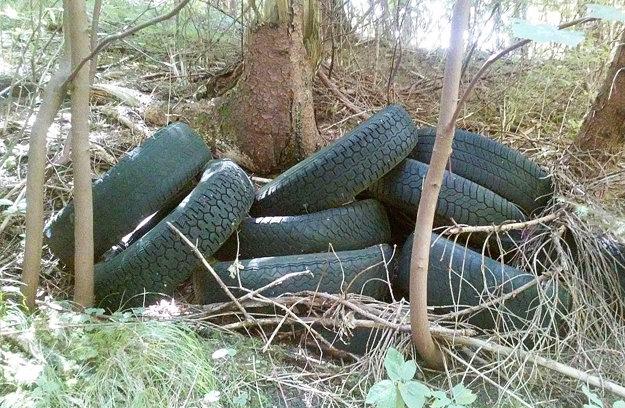 Majiteľ sa týchto pneumatík zbavil jednoducho, ale hlavne zadarmo.