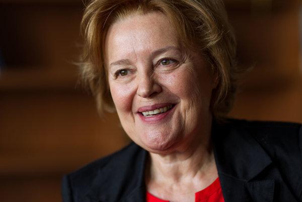 Magda Vášáryová bola veľvyslankyňou v Poľsku v rokoch 2000 - 2005.