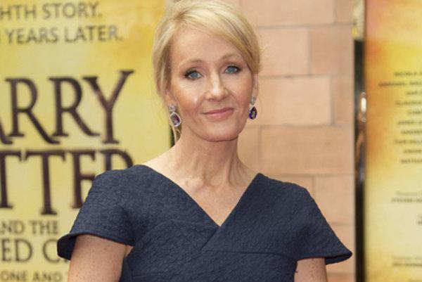 J. K. Rowlingová pred premiérou divadelnej hry Harry Potter a prekliate dieťa.