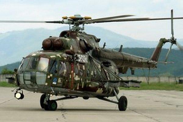 Problémom sú staršie helikoptéry.