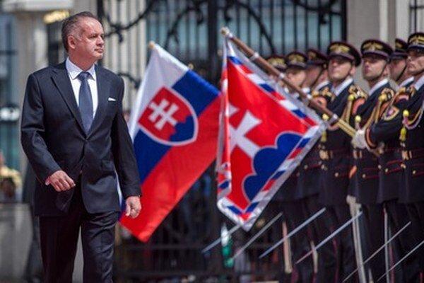Andrej Kiska v deň inaugurácie.